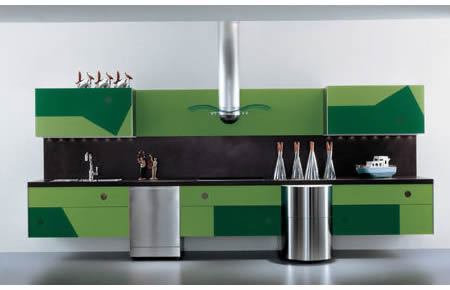 Geometrica - La Cucina Alessi kitchens - Luxurylaunches
