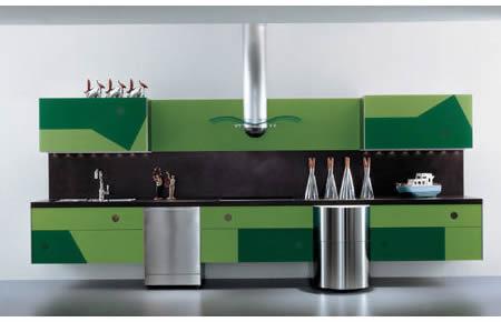 Geometrica - La Cucina Alessi kitchens -