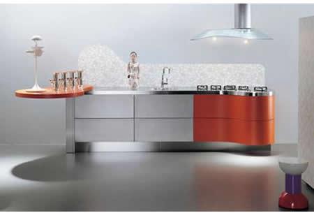 Sinuosa - La Cucina Alessi kitchens -