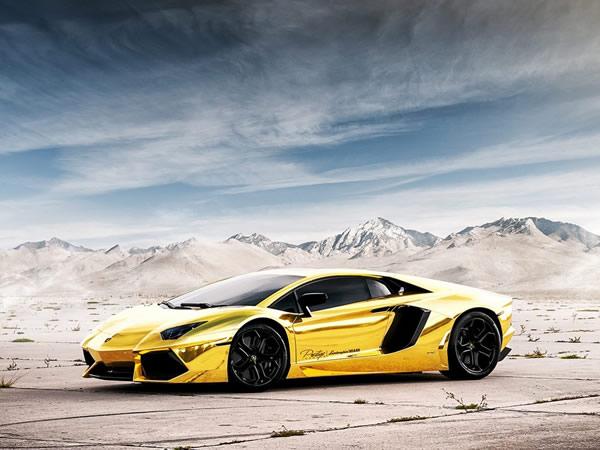 Gold Lamborghini Aventador Lp700 4 Caught On Video In Miami