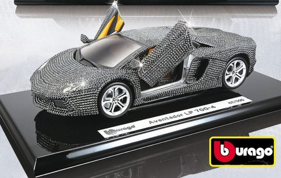 Weu0027ve Already Seen A Swarovski Studded Lamborghini Murcielago LP 640 Toy  Model Dazzle On Luxurylaunches. Now Its Lamborghini Aventador LP 700 4 To  Follow ...