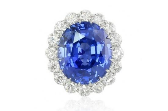 The Largest And Most Expensive 69ct Royal Blue Sapphire