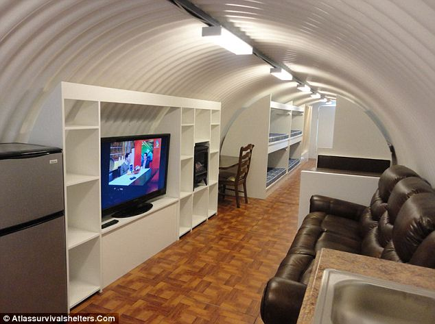 Stay Protected In The 75 000 Luxurious Bomb Proof Bunker
