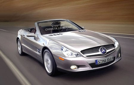 A look at the 2009 Mercedes SL-Class -