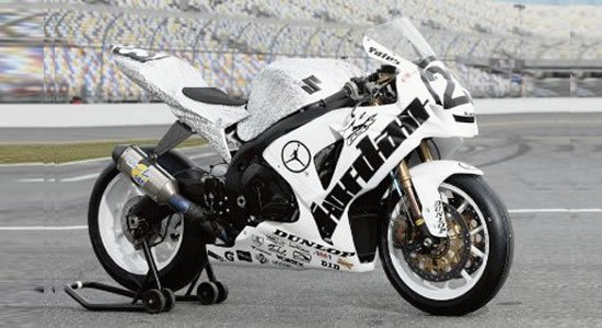 Michael jordan motorsports unveils 2010 silver edition Micheal motors