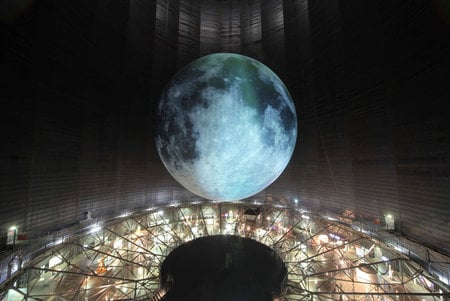The Largest Moon Sculpture In The World At The Quot Out Of