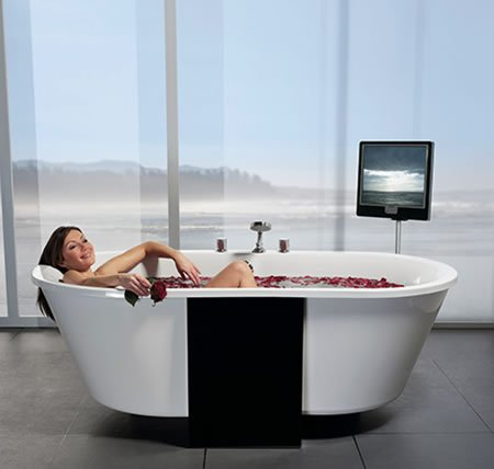 Rapabad Introduces Qvalis Bathtub With Has A Floating