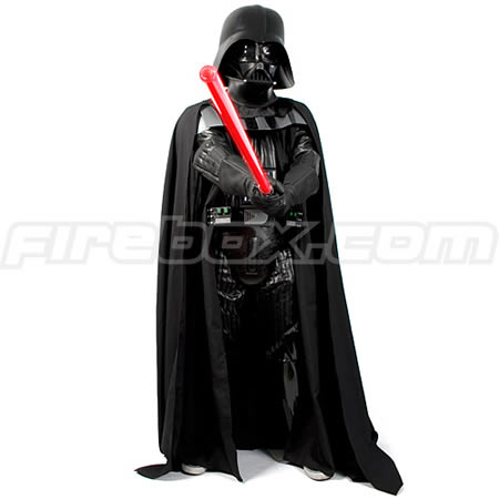 supreme edition darth vader costume for a true villain. Black Bedroom Furniture Sets. Home Design Ideas