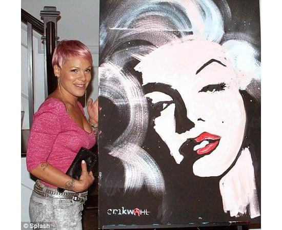pink-marilyn-monroe-painting