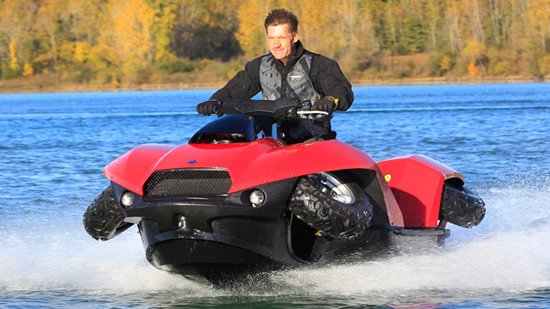 All Terrain Tires >> The Quadski amphibious ATV will soon be up for grabs in the U.S. : Luxurylaunches
