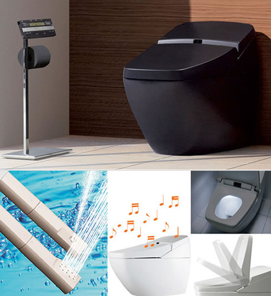 Inax Regio Smart Toilets For Christmas
