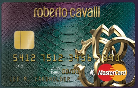 Cavalli introduces Snakeskin credit card that competes with the