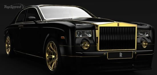 Rolls-Royce Phantom with pure gold trimmings is fit for ...