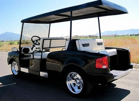 Rolls Royce Limo >> Give your golf cart a Rolls Royce Phantom style makeover