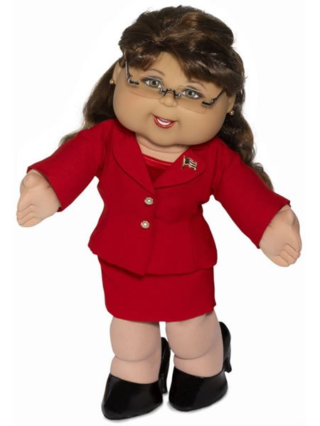 Palin cabbage patch doll – the journey is the reward.