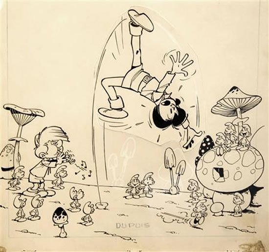 smurfs-original-artwork