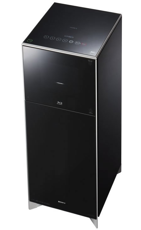 HES Or Home Entertainment Starship V1000 Is A Huge Baby That Features 200 Blu Ray CD DVD Disk Changing Capacity