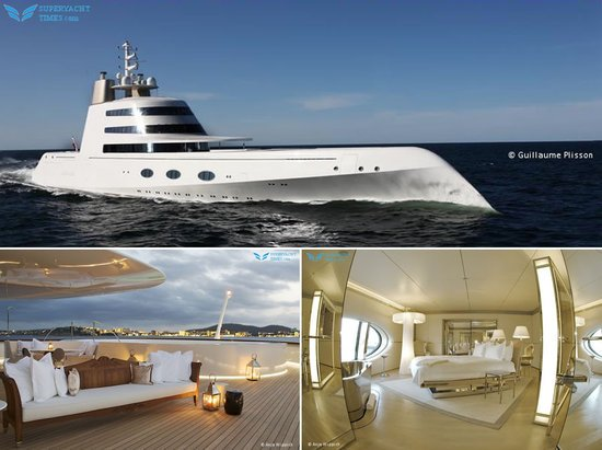 The Remarkable Interiors Of Splendid 119m Superyacht A