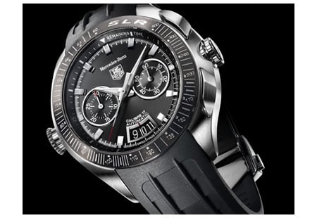 tag heuer slr for mercedes-benz wristwatch -