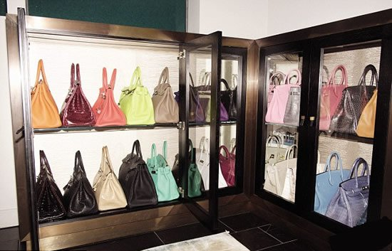 Tamara Ecclestone shows off her collection of 30 Hermès Birkin bags -