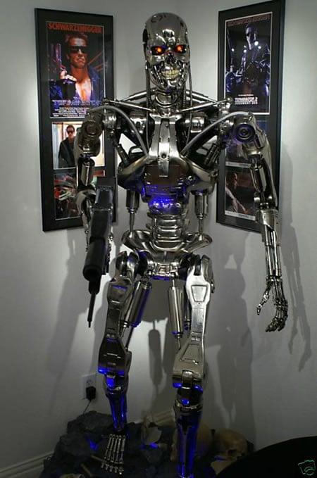 Sideshow Terminator T 800 Endoskeleton Life Size Prop