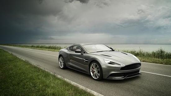 Aston Martin Vanquish Captured In Its Full Glory Luxurylaunches