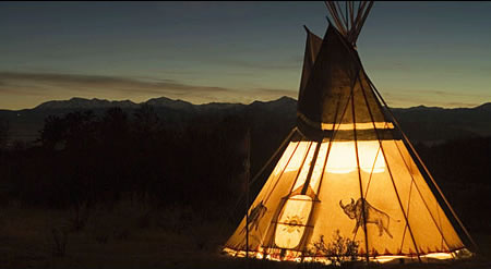 Luxurious Wifi Teepees At Yukon For All The Pampering