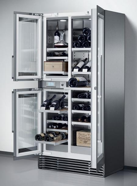 Wine Storage Refrigerator From Gaggenau Is Spacious And