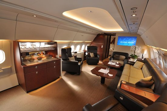 Airbus Acj318 Private Jet Has The World S Largest