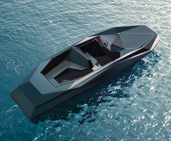 The Z Boat Designed By Zaha Hadid Is Worth 458 000