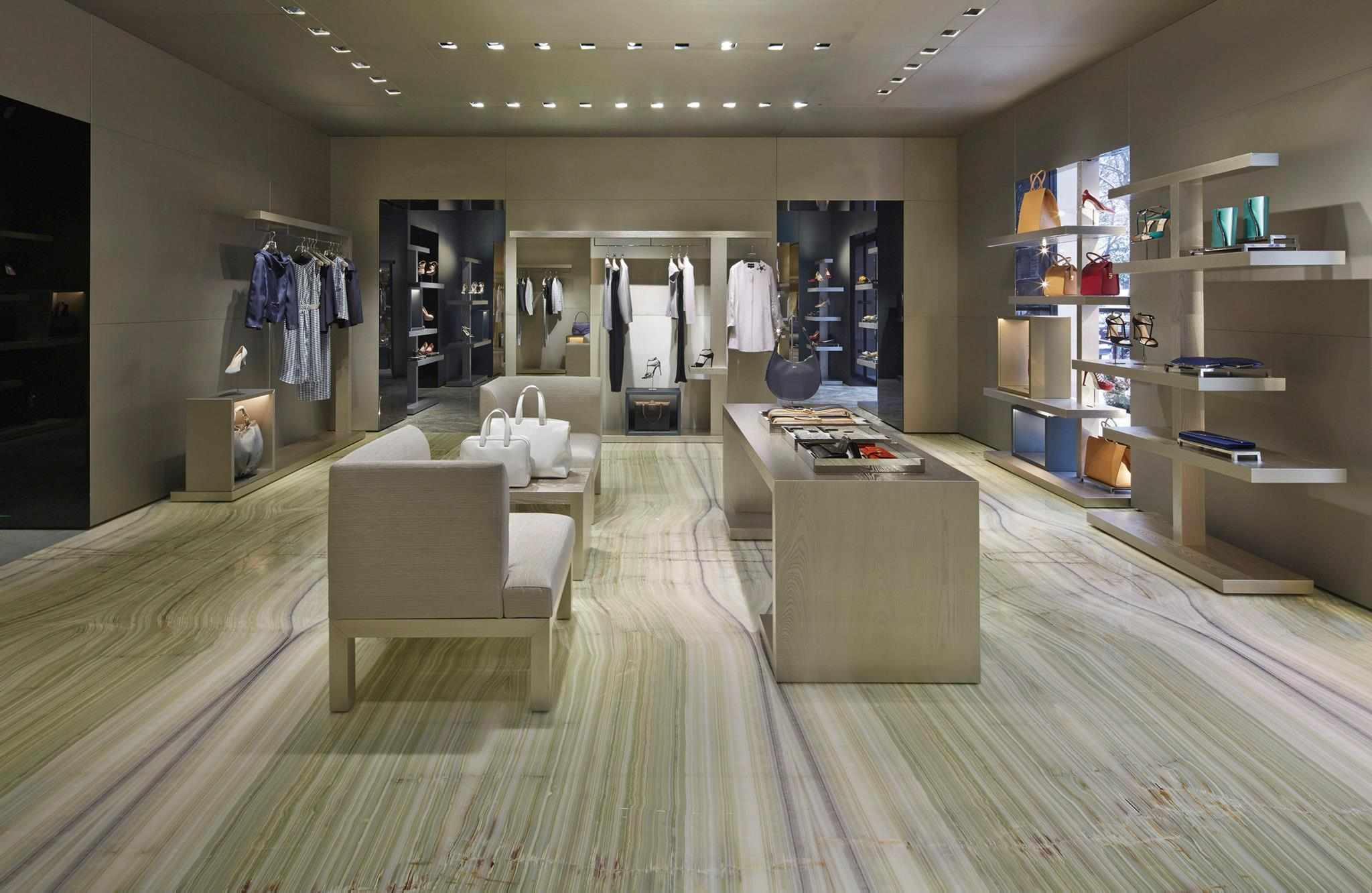 Giorgio Armani Opens A Flagship Store Exclusively For