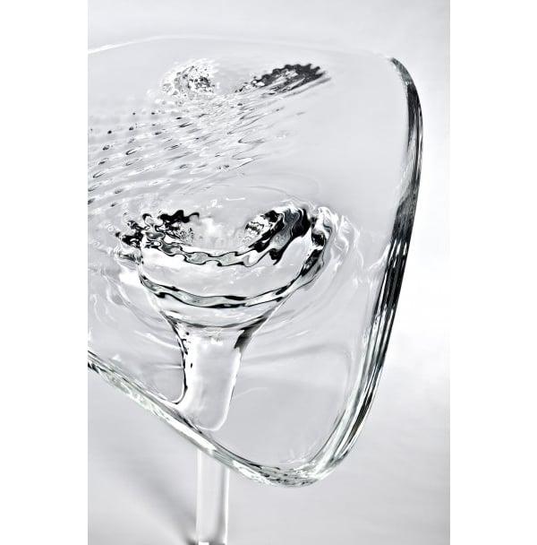 Zaha Hadid mimics water with a $160,000 coffee table : Luxurylaunches