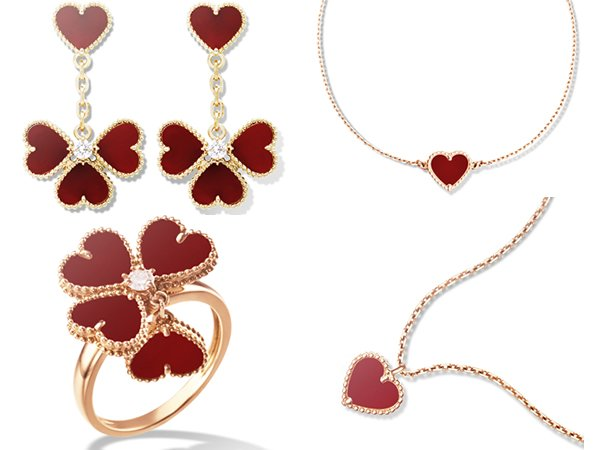 Van Cleef Amp Arpels Heart Shaped Jewelry To Celebrate
