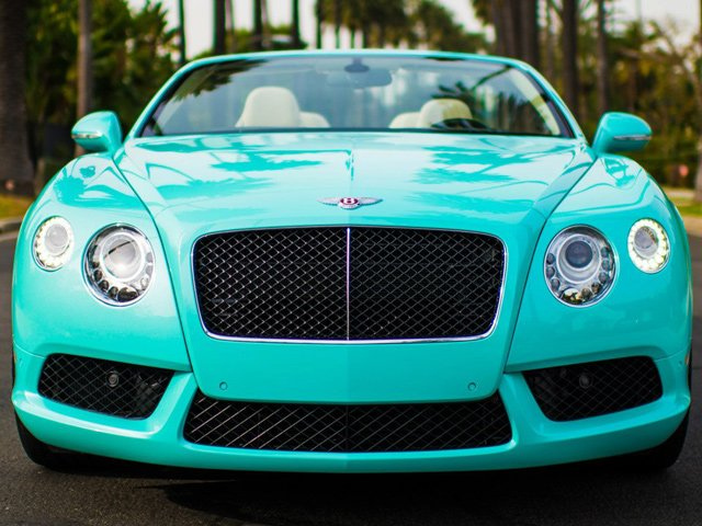 2013 bentley continental gtc v8 beverly hills edition is dressed in tiffany blue. Cars Review. Best American Auto & Cars Review