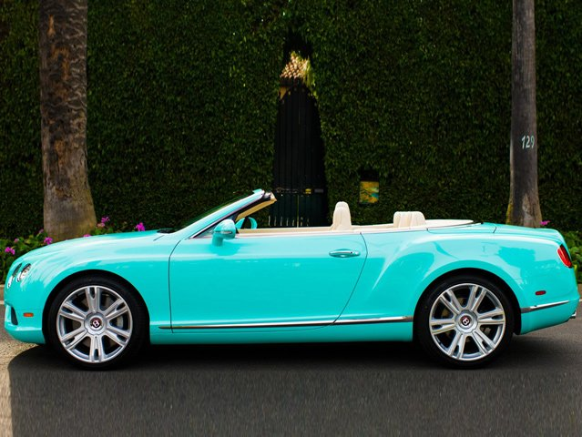 2013 bentley continental gtc v8 beverly hills edition is dressed in tiffany blue. Black Bedroom Furniture Sets. Home Design Ideas