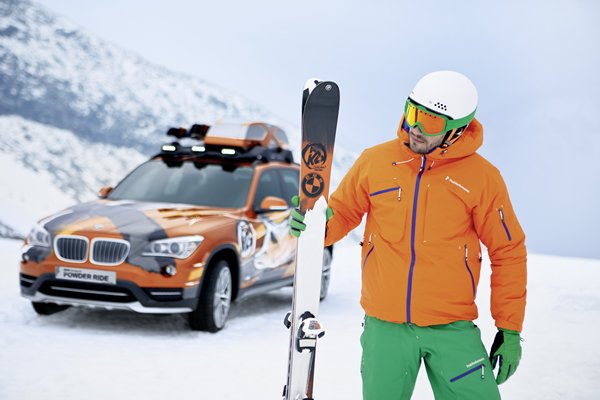 Bmw Group Designworksusa And K2 Unveil Powder Ride Skis