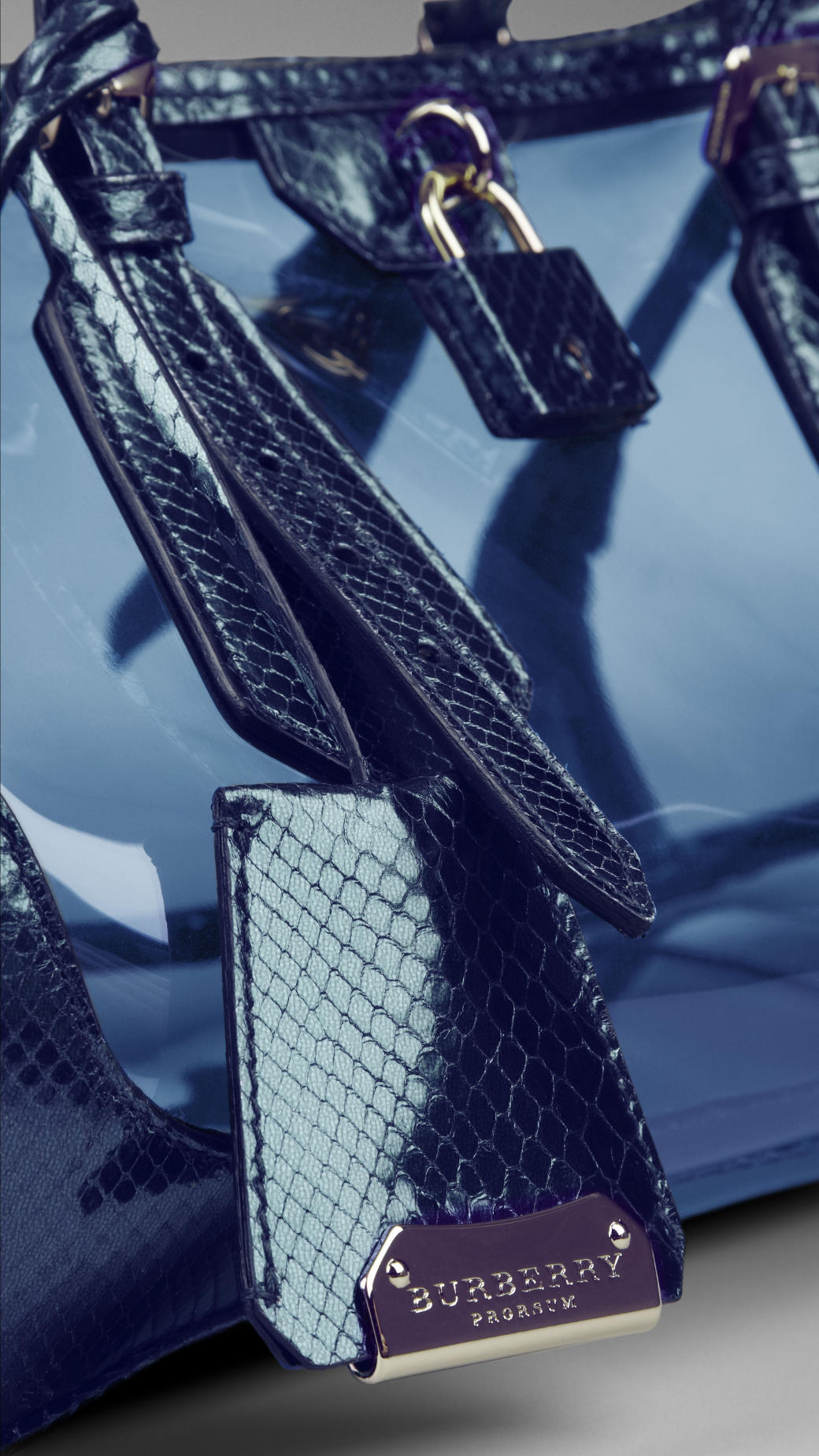 Blue Burberry Bags From Spring Summer 2013 To Beat Post
