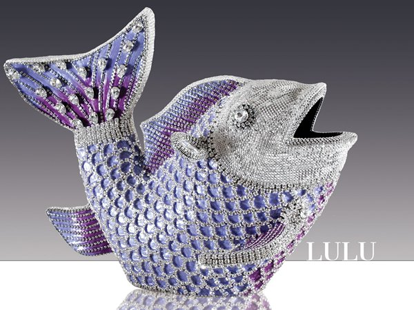 Lulu Swarovski Encrusted Fish Makes A Dazzling Statement