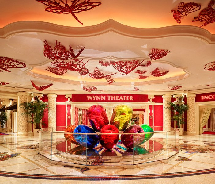 Wynn Las Vegas Unveils The 33 6 Million Tulips Sculpture