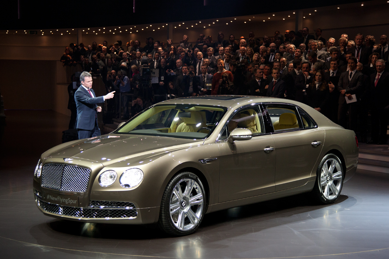 2014 bentley flying spur debuts at 2013 geneva motor show. Cars Review. Best American Auto & Cars Review