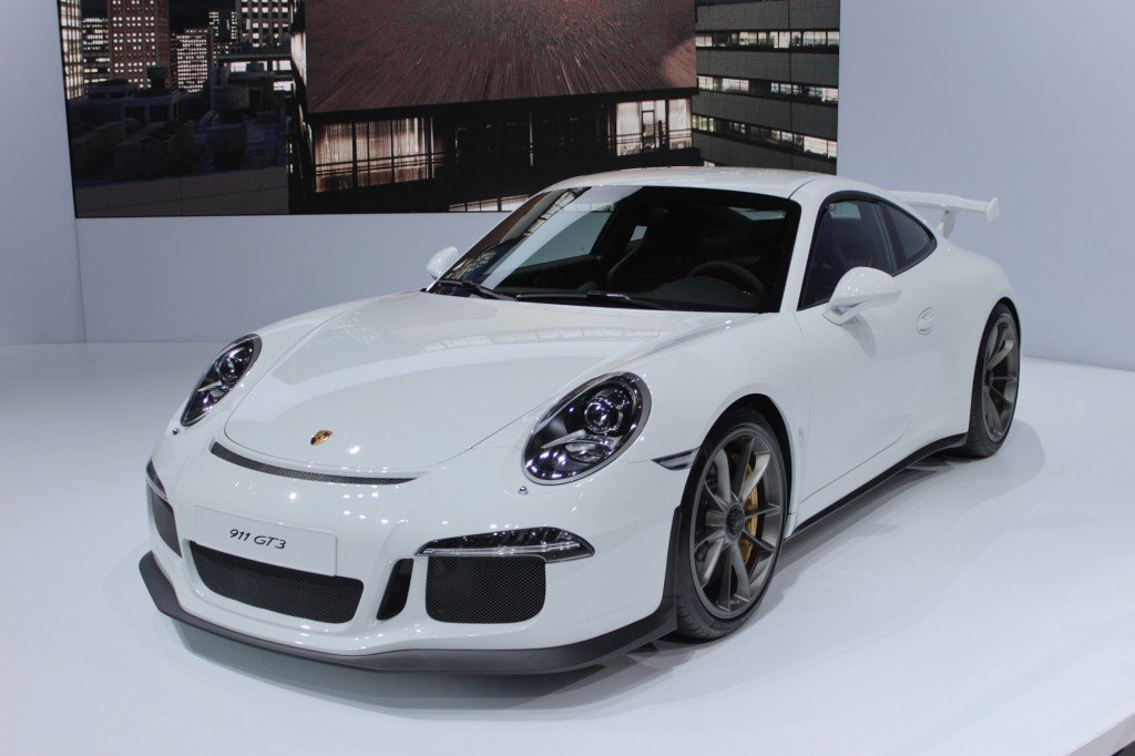 The 2014 Porsche 911 GT3 debuts at the 2013 New York International ...