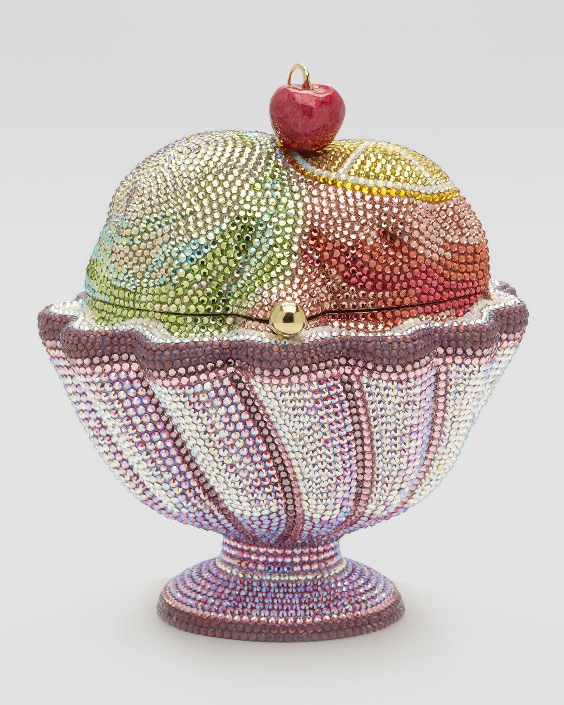 Judith Leiber's Ice Cream Sundae inspired minaudieres are yummy indeed : Luxurylaunches