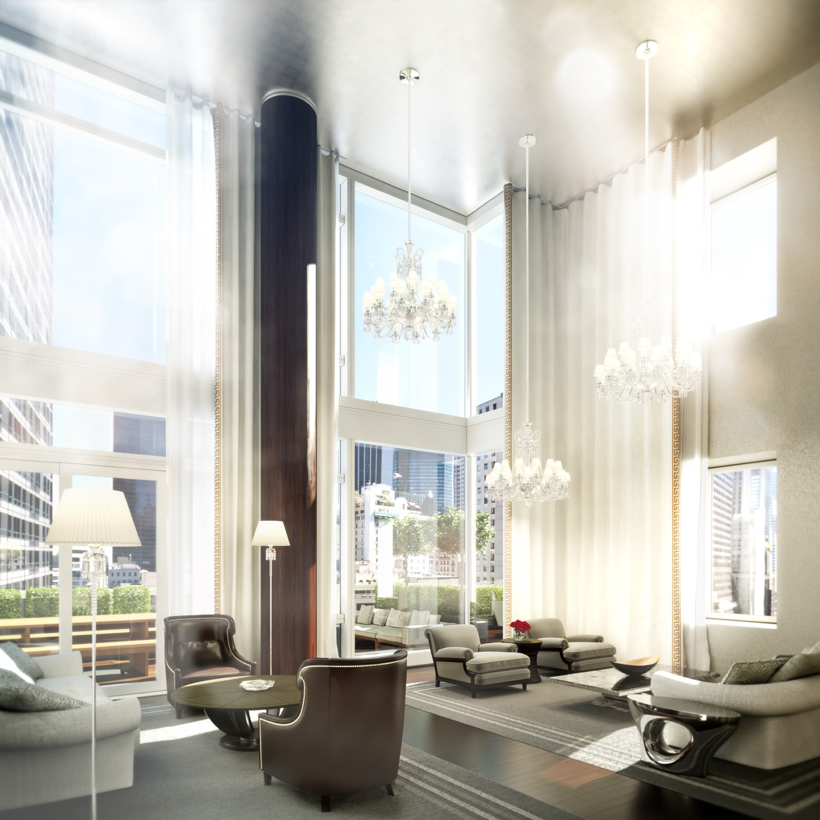 13 Stunning Apartments In New York: Baccarat Hotel And Residences, New York Will Open In 2014