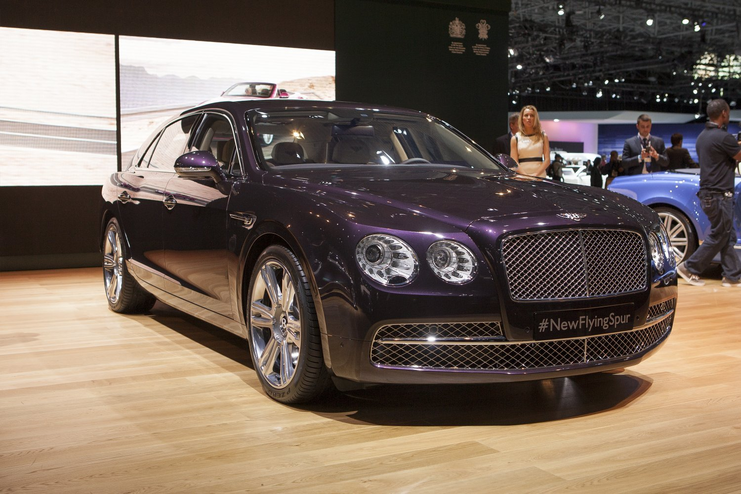 2014 Bentley Flying Spur Makes Its American Debut At The