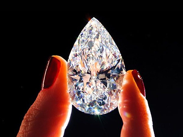 4a5bccc16ac74 The world s largest internally flawless diamond is the centerpiece ...