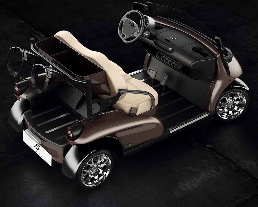 Garia Mansory Currus To Debut Luxury Golf Carts At The