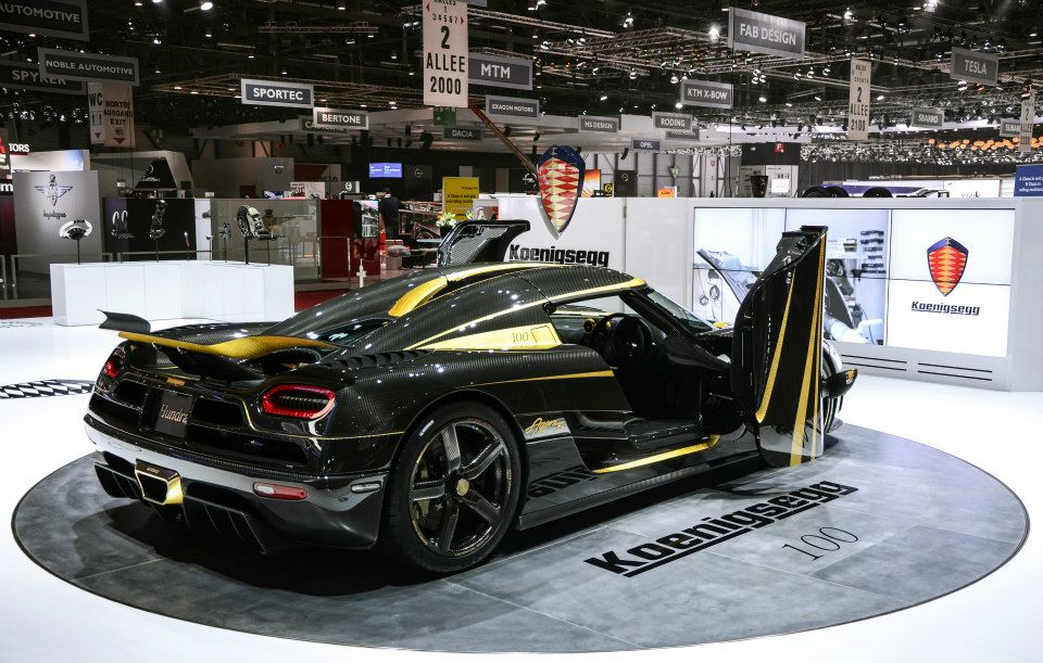 koenigsegg agera s hundra with gold trimmings is prepped for 2013 geneva auto salon. Black Bedroom Furniture Sets. Home Design Ideas