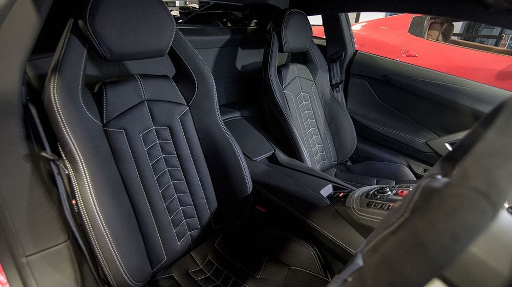 Lamborghini Aventador With Bespoke Interiors And
