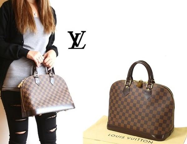 Designer Bag Directory The Louis Vuitton Alma