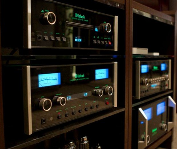 Mcintosh X John Varvatos Custom Built Soho Audio System Is